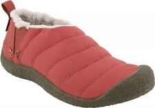 KEEN WOMEN'S HOWSER SLIPPERS BURNT HENNA SIZE 5 NIB LIST PRICE $60