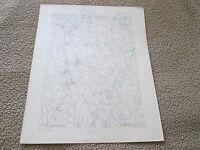 1885 ABINGTON SHEET MAP, TOPOGRAPHICAL from ATLAS OF MASSACHUSETTS, 1890