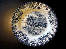 1 Coaching Scenes Johnson Bros Ironstone Hunting Country Small Bread Plate