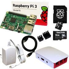 Raspberry Pi 3 Set / Bundle: original 16 GB SD-Karte, HDMI, Netzteil, Gehäuse