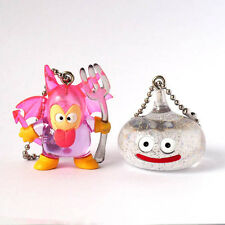 Square Enix SQEX Toys Dragon Quest Crystal Monsters Demonite and Slime Keychain