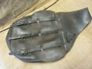 Vintage US Leather Saddle Bags Satchel > Antique Horse Western Saddles 10055