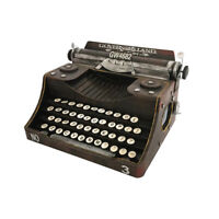 Retro Vintage Typewriter Handmade Props Model Retro Collection Decoration