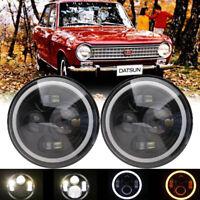 *DOT APPROVED* Angel Halo Xenon HID-Look Headlights For 75-82 Datsun 280Z 260Z Z