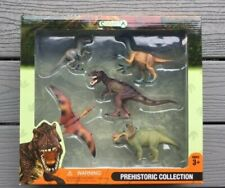 COLLECTA MINATURES PREHISTORIC COLLECTION OF DINOSAURS GIFT BOX ITEM # 89120 F/S