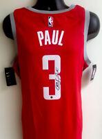 Chris Paul Houston Rockets Autographed Signed Nike Swingman Jersey Steiner COA