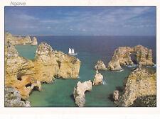 Ponta de Piedade Lagos Portugal Postcard unused VGC