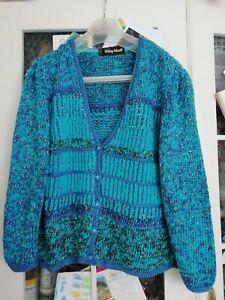superbe veste / gilet laine Anny Blatt 40 / 42 comme neuf