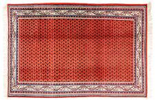 Großteppich Mir ca. 190x285 cm | Rot | Schurwolle | handgeknüpft