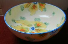 Hancock's Ivory Ware Hand-Painted Bowl