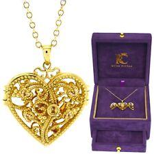 Clogau Welsh 18ct Yellow and Rose Gold Kensington Key Locket Pendant