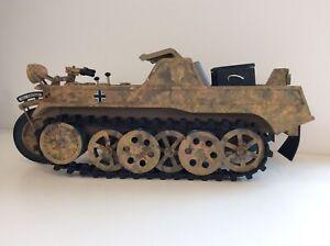 21st century toys 1/6 Kettenkrad Camo, Nice Display Piece, Normandy
