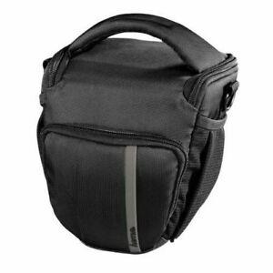 Hama Odessa Colt 110 DSLR Bridge Camera Case in Black with Grey (UK Stock) BNIP