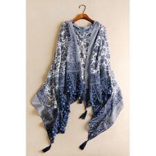 Vintage Women's Warm Winter Tassel Pashmina Cashmere Long Scarf Shawl Wrap