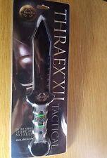 """USGLADIUS THRAEX XII 8"""" DOUBLE EDGED FIXED BLADE MICARTA HANDLE USG01"""