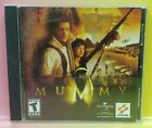 The Mummy Konami Cd Rom Pc Computer Game 1 Owner! Tested / Working !
