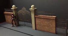 FIG-GA-1/12: FIGLot Paper-craft Diorama - 1/12 scale Iron Gate Version A