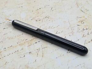 Lamy Dialog 3 Piano Black Fountain Pen 14K Medium Nib