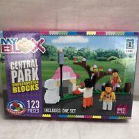 MY BLOX CENTRAL PARK CONSTRUCTION BLOCKS 123 PIECES NIB