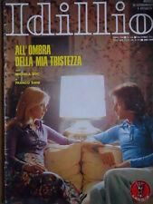 Rivista Fotoromanzi IDILLIO n°144 1974 - BUONO   [D30]