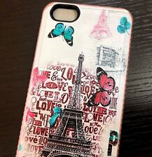 ZTE WARP 8 / BLADE FORCE (N9517) - Hard Armor Case Rose Gold Paris Eiffel Tower
