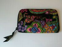 VERA BRADLEY Zip Around Wallet Wristlet in Symphony in Hue, NWOT