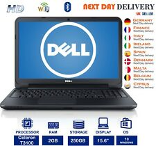 "DELL Inspiron 1545 15.6"" Laptop Intel Celeron T3100 1.90Ghz 2GB RAM 250GB HDD"