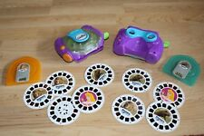 2 Discovery Channel Learning 3D Viewmasters Sound Reels Dinosaurs Disney Animals