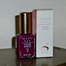 Vintage Rare Mary Kay Color Shield Nail Color Berry Purple NIB Step 4