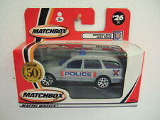 Matchbox MB26 (MW-476) MERCEDES BENZ E 420 WAGON > POLICE < with 50th logo