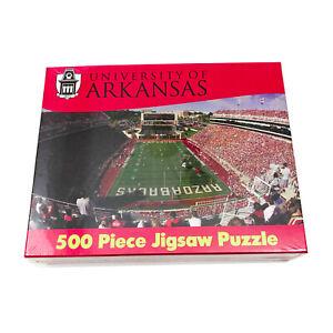 NWT University of Arkansas Jigsaw Puzzle 500 Piece