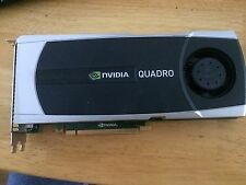 FREE SHIP Quadro 6000 VCQ6000-T 6GB 384-bit GDDR5 PCI Express 2.0 video card