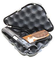 NEW! MTM Pocket Pistol Case (Black Pistol Rug Design) 802C-40