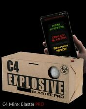 Blaster PRO C4 Airsoft Mine / Grenade Bluetooth enabled