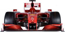 STICKER MURAL Géant 180 x 92 cm - Formule 1 Scuderia Ferrari (échelle 1)