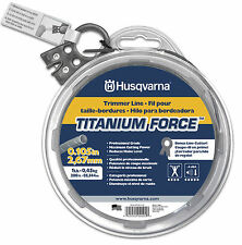 Husqvarna Titanium Force String Trimmer Line 1 lb. spool ..105 in. diameter