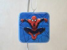"Marvel Spider-Man Resin Christmas Ornament By Kurt S Adler~1 1/2"" X 1 1/2"", NEW"