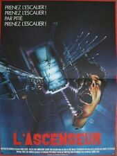 L'ASCENSEUR Affiche Cinéma / Movie Poster Dick Maas & Huub Stapel