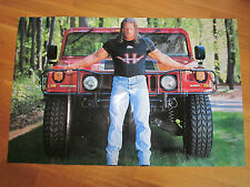 Wwe wwf triple h hhh dédicacé hand signed poster