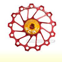 AL7075 11T gold 2pcs//set 694 gobike88 KCNC Ultra Light Jockey wheel Pulley