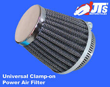 UNIVERSAL CLAMP ON POWER AIR FILTER 42 / 43mm suit YAMAHA RD125LC Mk 2 85-86