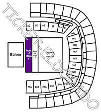 Depeche Mode Frankfurt Arena Front of Stage 1 Tickets Karten 20.06.2017 FOS