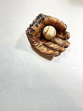S. S. Sarna Baseball Glove with Ball