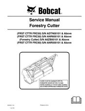 New Bobcat Forestry Cutter Repair Service Manual 6904962 Free Shipping