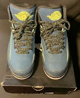 "Nike Retro Air Jordan 2 ""Nightshade"" Size 12 VNDS 9/10 Condition OG All"