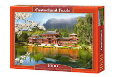 Castorland C-101726 Puzzle Replica Of The Old Byodoin Temple Tempel 1000 Teile
