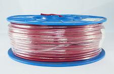 SINGLE CORE 5mm 100M RED WIRE CABLE 25 AMP CARAVAN TRAILER 4X4 AUTOMOTIVE 12V