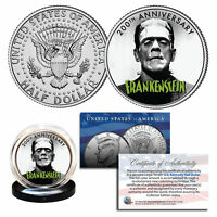 FRANKENSTEIN - The First 200 Years - 2018 Genuine JFK Half Dollar U.S. Coin