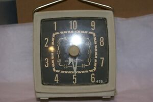 Vintage 1940-50's General Electric DRYER TIMER WIND UP (ONE HAND HAS COME LOOSE)