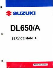 2004-2011 Suzuki DL650 / DL650A ABS V-Strom Motorcycle Service Manual : 99500...